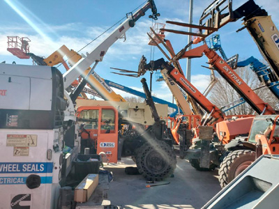 Construction Equipment Repair in San Antonio, TX